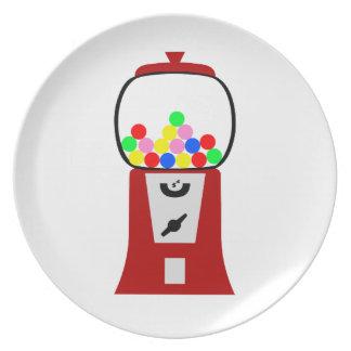 Gumball Machine Dinner Plates
