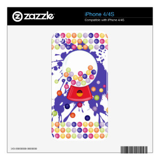 Gumball_Machine Skin For iPhone 4S