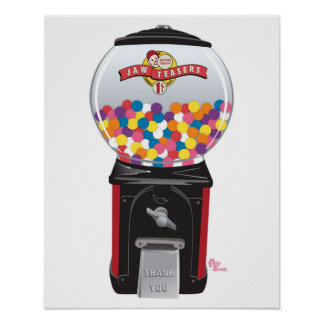 Bubblegum Machine Gifts on Zazzle