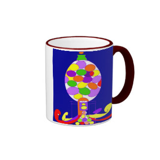 GUMBALL PENNY CANDY MACHINE COFFEE MUGS