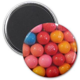 Gumballs 2 Inch Round Magnet