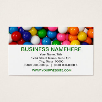 Gumballs Business Cards