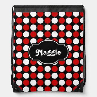 Gumballs colorido, blanco y negro rojos, añade mochilas