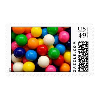 Gumballs colorido estampillas