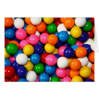 Gumballs Greeting Cards