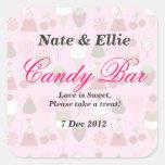 Gumballs & Ice cream Candy Bar Sticker
