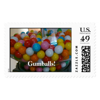 Gumballs! Postage Stamps