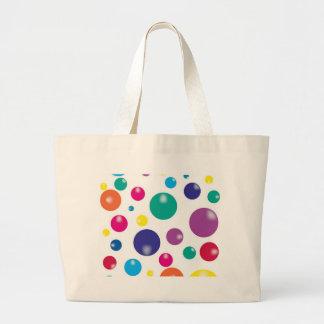 Gumballs que despide colorido bolsas de mano