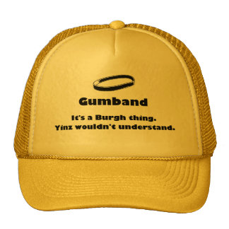 gumband trucker hat