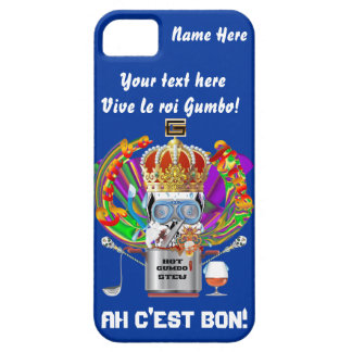 Gumbo King Mardi Gras View Hints please iPhone SE/5/5s Case