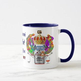 Gumbo King Mardi Gras View Hints please Mug