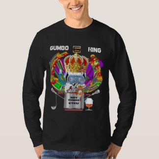 Gumbo King Men Dark View Hints please T-Shirt