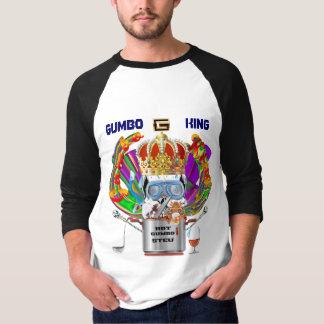 Gumbo King Men Light View Hints please T-Shirt