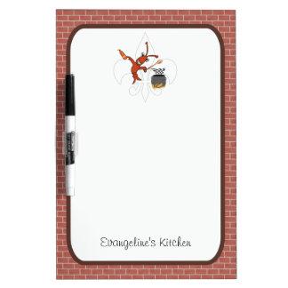 Gumbo lindo de los cangrejos de Cajun Pizarra