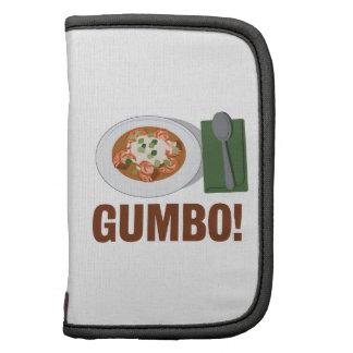 Gumbo Meal Folio Planner