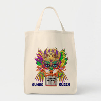 Gumbo Queen Mardi Gras All Style Light View Hints Tote Bag