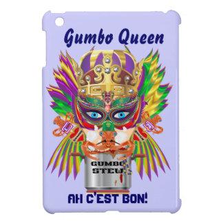 Gumbo Queen Mardi Gras View Hints please Case For The iPad Mini