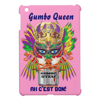 Gumbo Queen Mardi Gras View Hints please Case For The iPad Mini