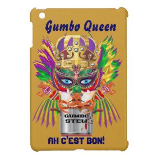 Gumbo Queen Mardi Gras View Hints please iPad Mini Covers
