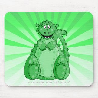 Gumby el Mousepad verde Alfombrillas De Ratón