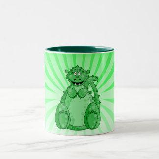 Gumby la taza verde