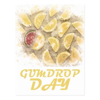 Gumdrop Day - 15th February Appreciation Day Postcard