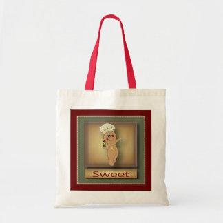 Gumdrop Gingerbread Man Tote Bag