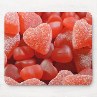 Gumdrops and Gummy Hearts Mouse Pad
