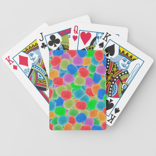 Gumdrops Bicycle Playing Cards