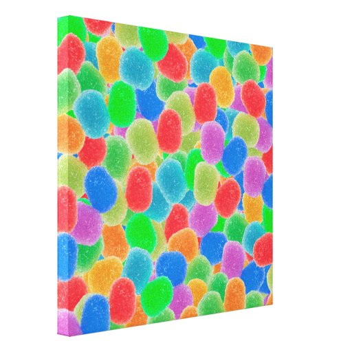 Gumdrops Gallery Wrapped Canvas