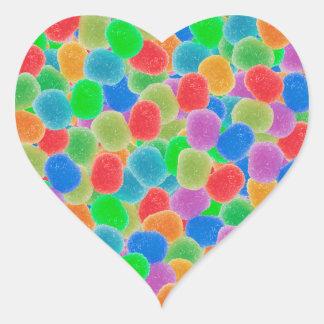 Gumdrops Heart Sticker