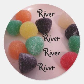 gumdrops sticker for name : River