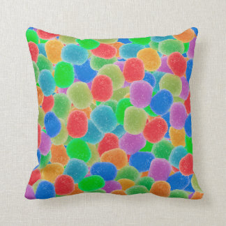 Gumdrops Throw Pillow