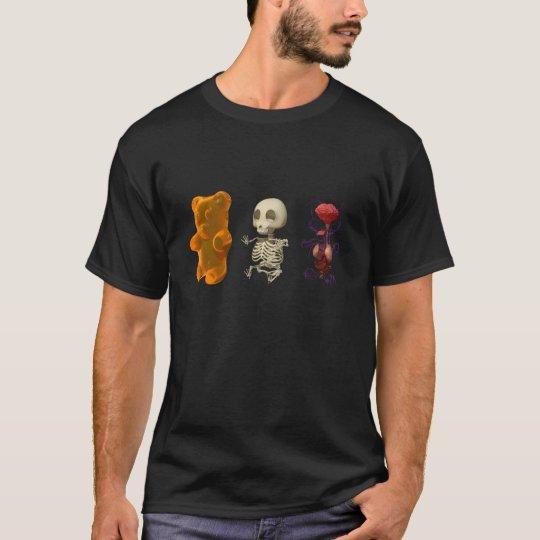 Gummi Bear Anatomy Trip DARK T-Shirt