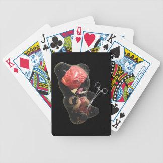 Gummi Bear Fetus/Newborn Playing Cards