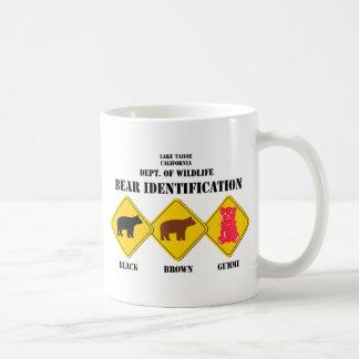 Gummi Bear Warning - Tahoe Wildlife Coffee Mug
