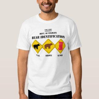 Gummi Bear Warning - Tahoe Wildlife T Shirt