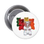 Gummi bears pinback button