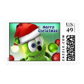 Gummibär Christmas Stamp