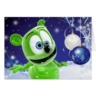 Gummibär Christmas Winter Holiday Card