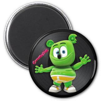 Gummibär DJ Vinyl Record Magnet