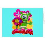 Gummibär Floral Card