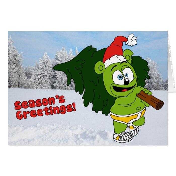 Gummibär Season's Greeting Christmas Card