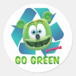Gummibär (The Gummy Bear) Earth Day Sticker