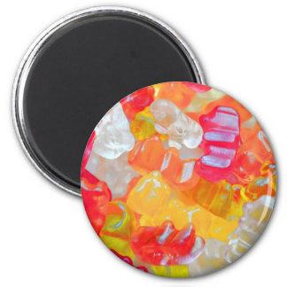 Gummibärchen Imán Redondo 5 Cm