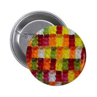 Gummibärchen Pin Redondo De 2 Pulgadas