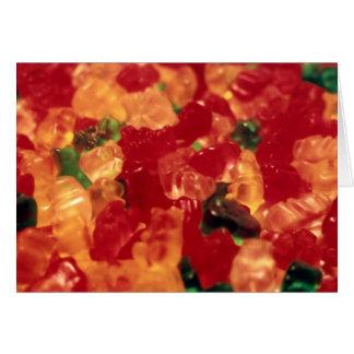Gummies Horizontal Greeting Card