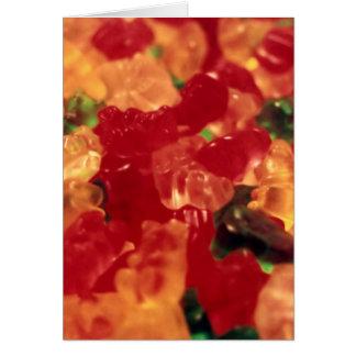 Gummies Vertical Greeting Card