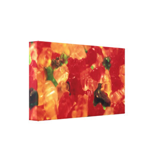 Gummies Wrapped Canvas