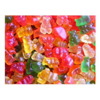 Gummy all your Lovin' Post Card
